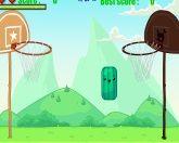 Баскетбол с арбузом