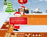 Санта и жаровня