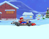 Зимняя езда Марио