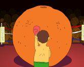 Бокс с апельсином