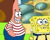 Спанч Боб и Патрик на дне