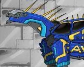 Новый дино робот