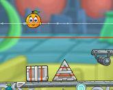 Прикрой апельсин в космосе